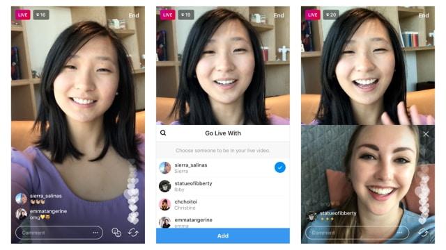 Fitur Live Instagram Bersama Teman