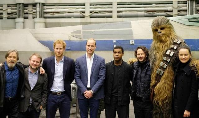 Pangeran William dan Harry Tampil Cameo di 'Star Wars: The Last Jedi' (503943)