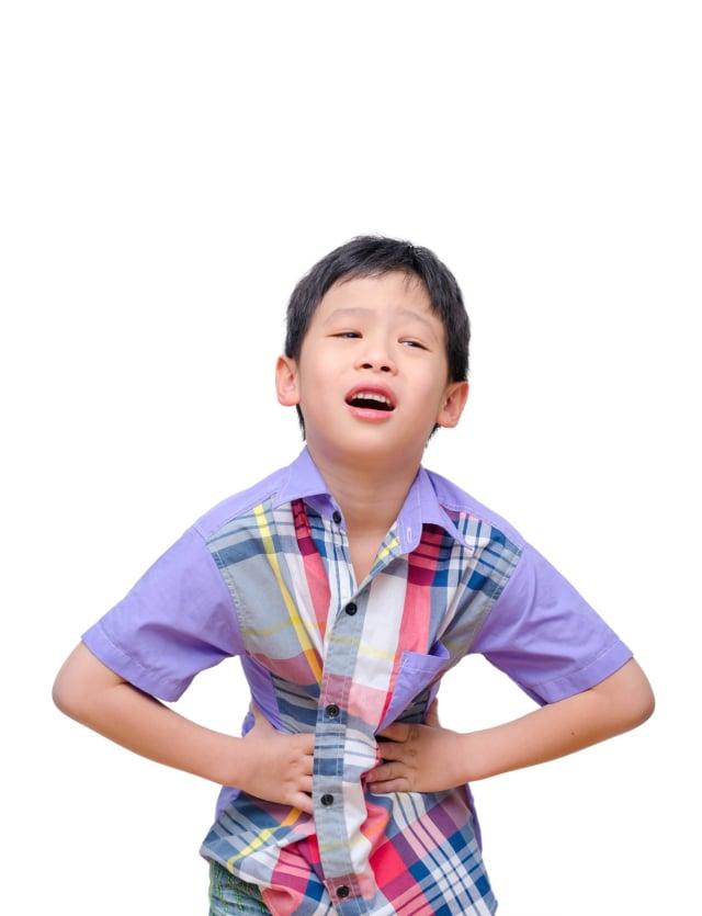 Anak yang menderita diare (NOT COVER)