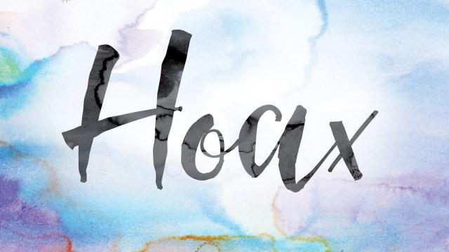 Hoax (Ilustrasi)