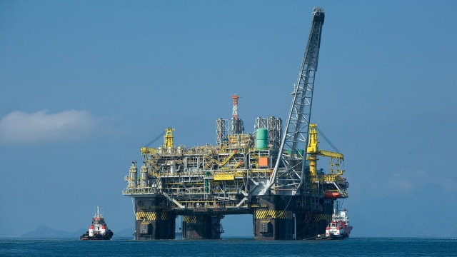 Rig minyak di Teluk Meksiko