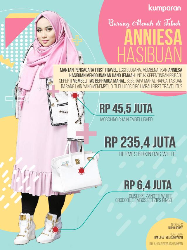 Infografis Anniesa Hasibuan
