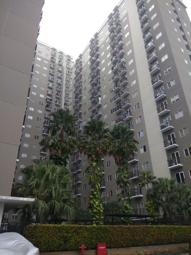 Apartemen Kiki Hasibuan yang digeledah polisi.