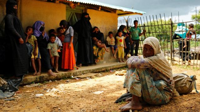 Tentara Myanmar Menggila, Bunuhi Bayi-bayi Rohingya, Bakar Masjid (246631)
