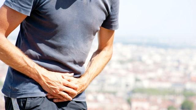Ilustrasi penderita kanker prostat