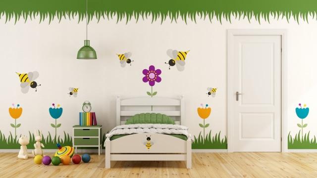 Warna Dinding Kamar Ternyata Berpengaruh Kepada Psikologis Anak