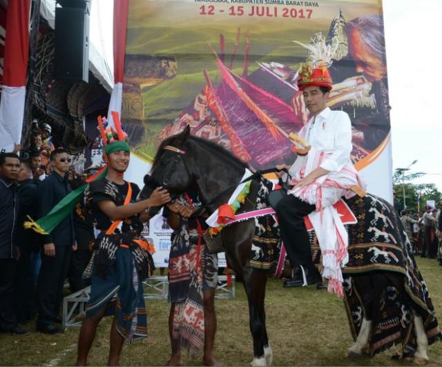 Mengenal Sandalwood, Kuda Hadiah Warga NTT untuk Jokowi (189768)