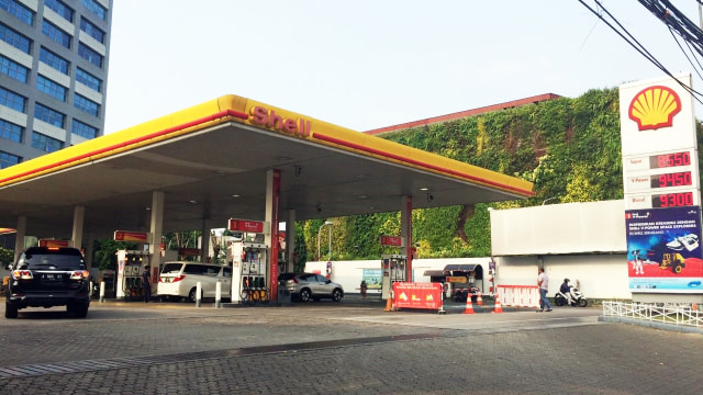SPBU Shell Gatot Subroto