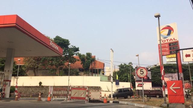 SPBU Total Jalan Kapten Tendean, Jakarta Selatan