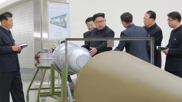Kim Jong Un dan senjata nuklir Korea Utara