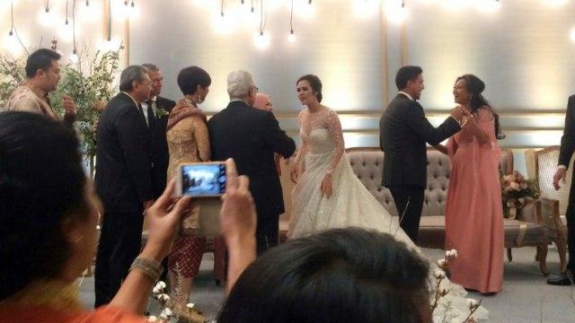 Resepsi Pernikahan Raisa Dan Hamish Digelar Dengan Tema