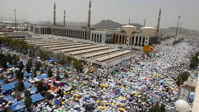 Jemaah haji di Makkah