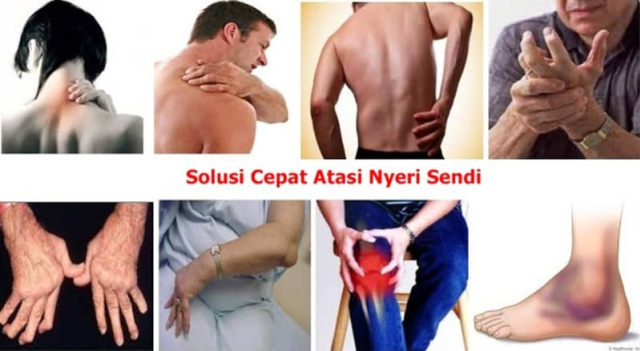 Lutut terasa panas nyeri