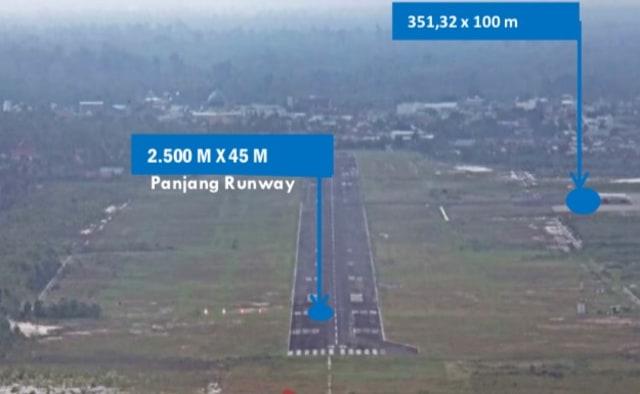 Revitalisasi Bandara Tjilik Riwut Palangka Raya