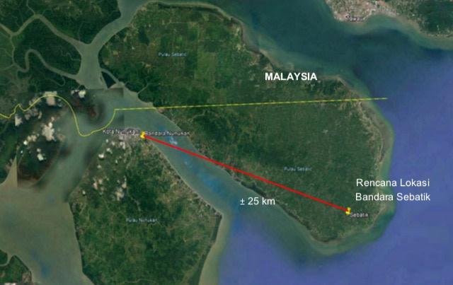 Pembangunan Bandara Sebatik Kalimantan Utara