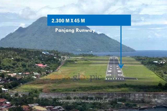 Revitalisasi Bandara Sultan Babullah Ternate