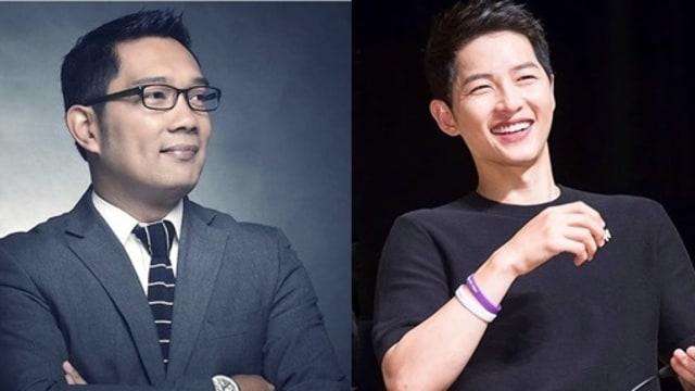Saat Ridwan Kamil Live Instagram Cukur Rambut Gaya Song Joong-Ki (157758)