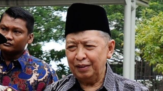Mantan Wapres Hamzah Haz Dirawat di RSPAD karena Gangguan Fungsi Organ Tubuh (105337)