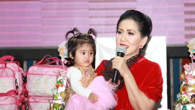 Perayaan Ulang Tahun Anak Venna Melinda