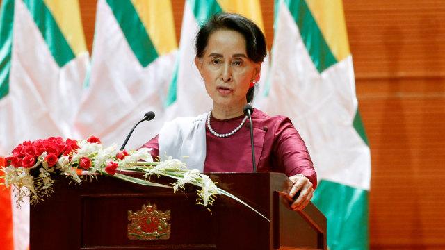 Aung San Suu Kyi Digugat di Argentina Atas Genosida Rohingya (390131)
