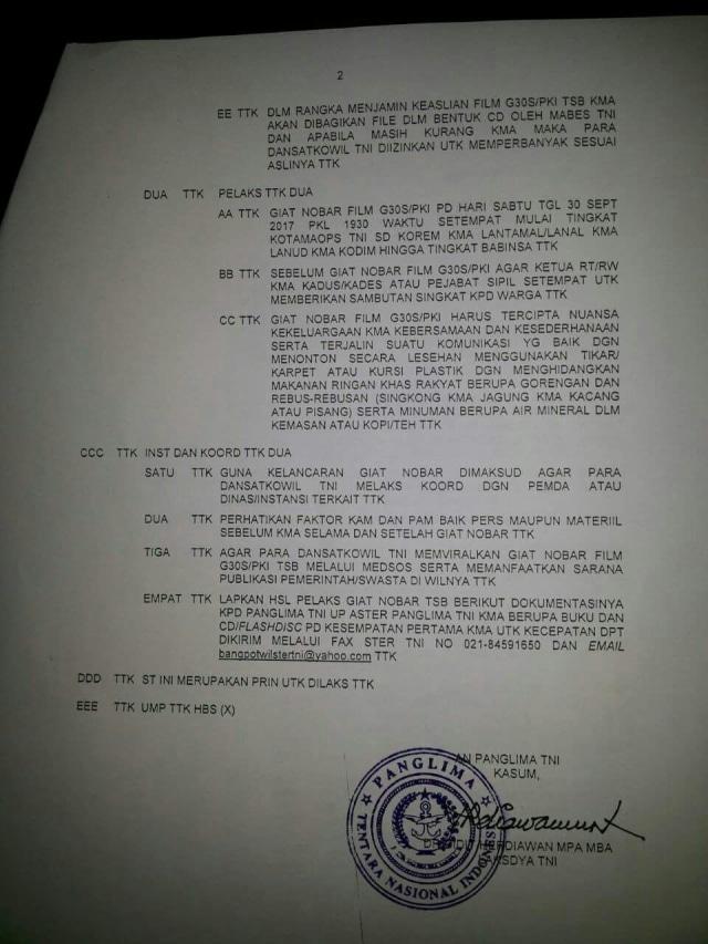 Panglima TNI Ungkap Alasan Beri Perintah Pemutaran Film G30S/PKI (313946)