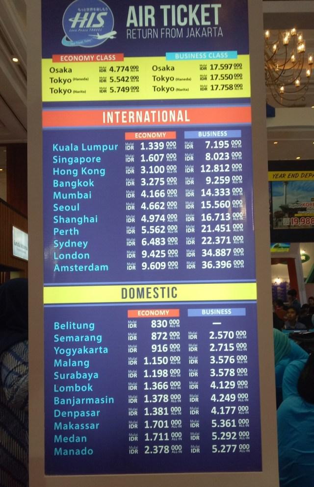 Melihat Keramaian Berburu Tiket Murah Di Garuda Travel Fair