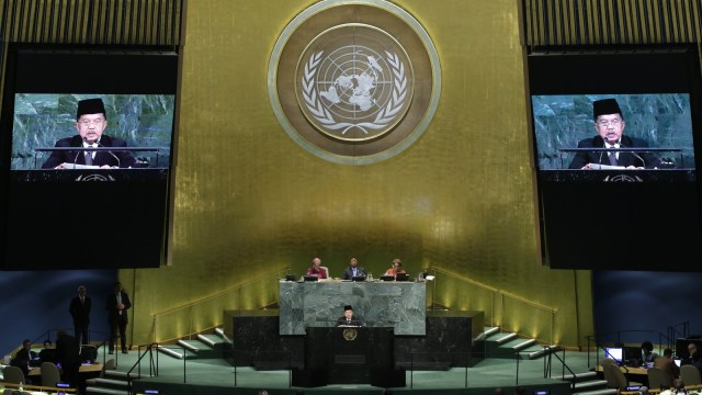 Jusuf Kalla di PBB