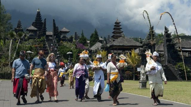 Pura Besakih di Kaki Gn Agung, Karangasem, Bali