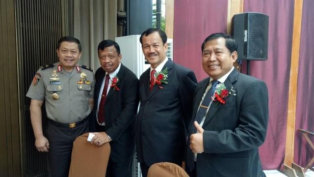 Perayaan HUT Eks Kapolri Awaluddin Djamin