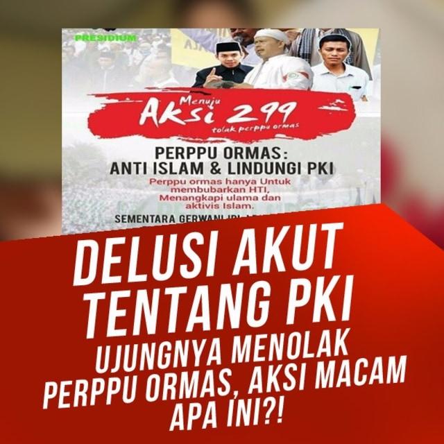 Aksi Demo 299 Bukan Dakwah atau Jihad, Melainkan Gerakan Politik (88385)