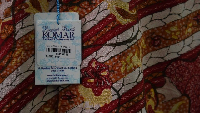 Harga Batik Tulis