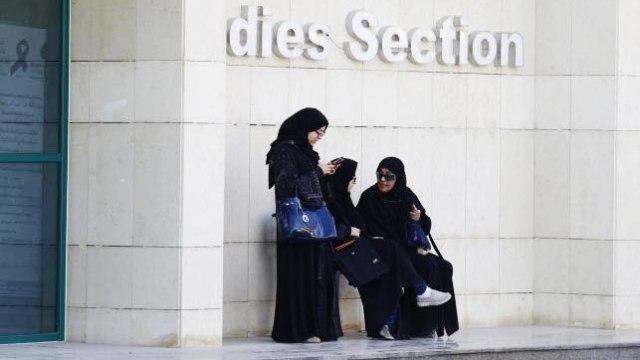 Para Perempuan Saudi Selesai Mengikuti Pemilu
