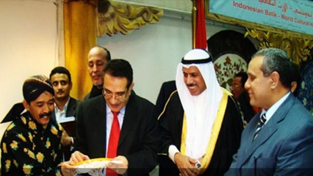 Mengenalkan Batik di Yaman