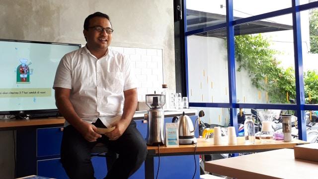 Aried Said, pemilik coffee shop Gordi