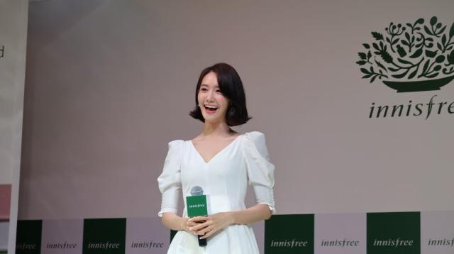 Yoona SNSD di peluncuran innisfree Color Clay Mask