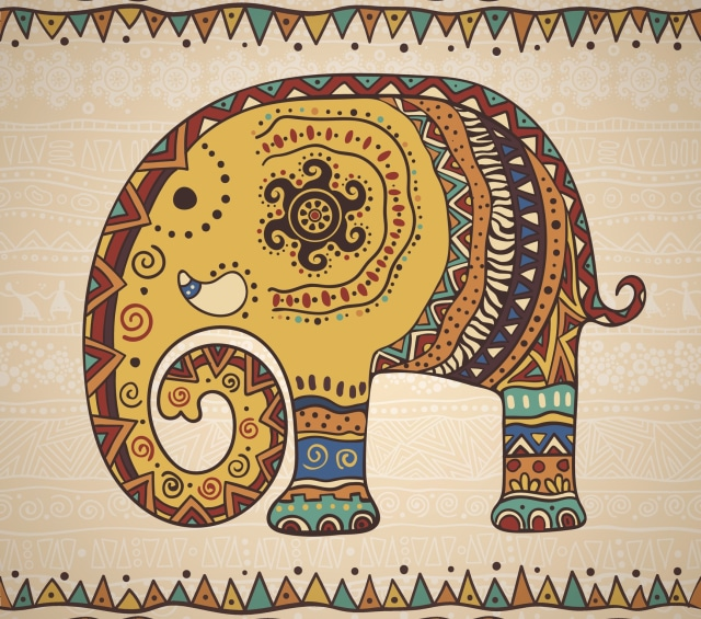 Motif Batik India