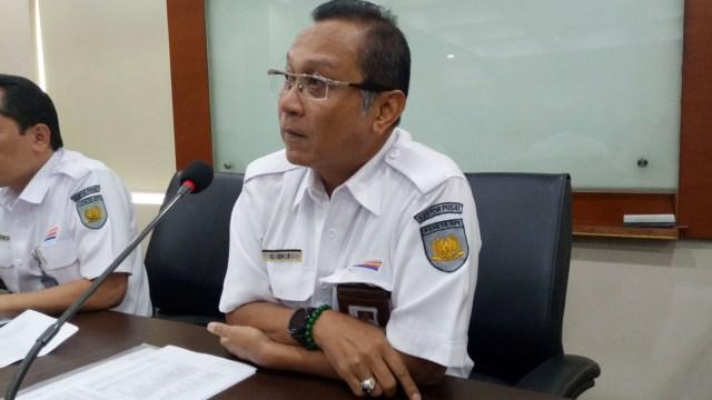 Direktur Utama PT KAI Edi Sukmoro