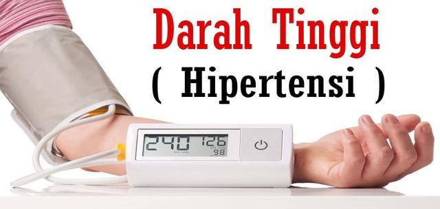 Cara Menurunkan & Menormalkan Tekanan Darah Tinggi / Hipertensi (74540)