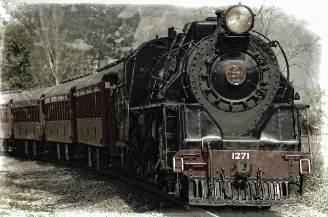 Kereta Kencana di Bandung (19670)