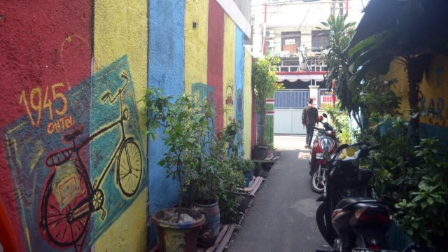 Gambar Kreatif Gang Kebanggaan di Tambora