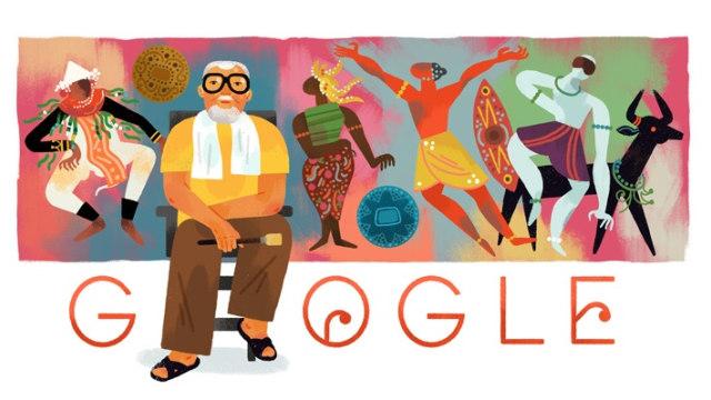 Google Doodle Bagong Kussudiardja