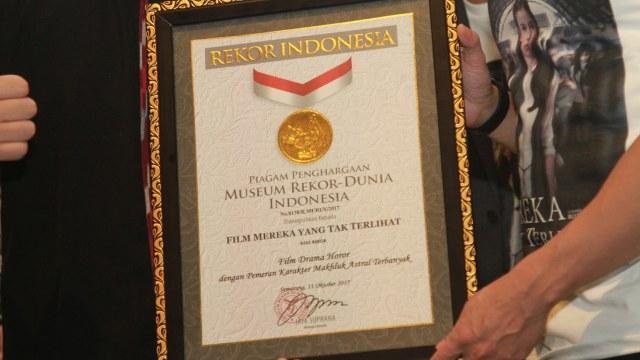Film Horor 'Mereka yang Tak Terlihat' Raih Rekor MURI (438292)