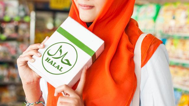 Ilustrasi produk halal.