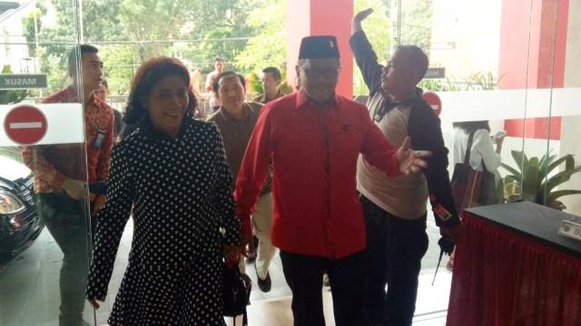Susi di kantor DPP PDIP