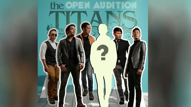 The Titans buka audisi