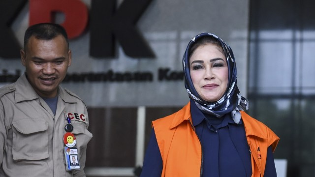 Wali Kota Tegal Siti Mashita diperiksa KPK
