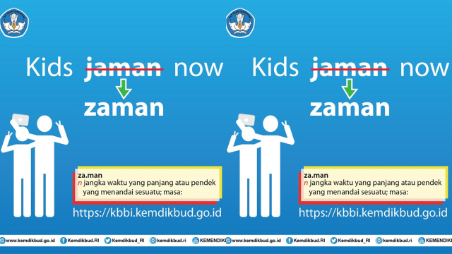 Kemendikbud Gunakan Kalimat 'Kids Zaman Now' di Twitter Agar Kekinian (265177)