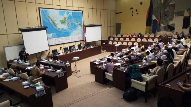 HTI, FPI hingga Presidium 212 Bahas Perppu Ormas dengan Komisi II DPR (131964)
