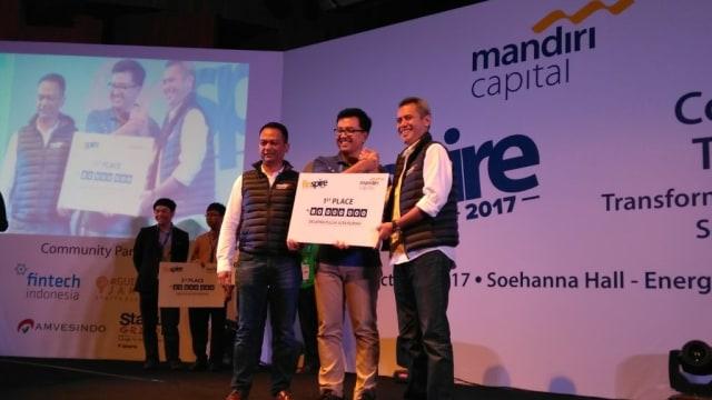 TaniFund Jadi Pemenang Kompetisi Startup Fintech Finspire 2017 (185484)