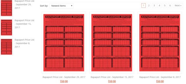 Harus berlangganan daftar Rapaport